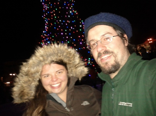 rebekah-and-I-attending-the-hanover-tree-lighting